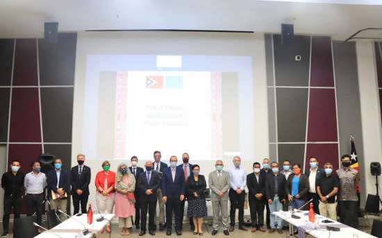 """Reunião de """"Diálogo Político sobre Gestão das Finanças Públicas"""""""